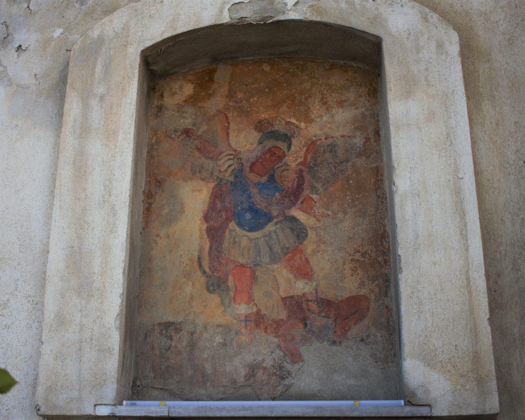affresco di San Michele Arcangelo, Patrono di Tufo
