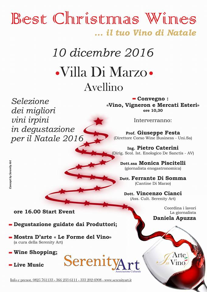 locandina Best Christmas Wine